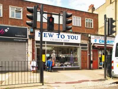 New To You charity shop at 127 Cricklewood Broadway in 2013