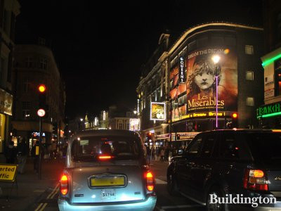 Queens Theatre on Shaftesbury Avenue in London W1