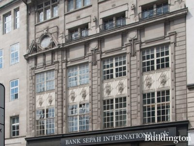 Bank Sepah International at 5-7 Eastcheap in 2014
