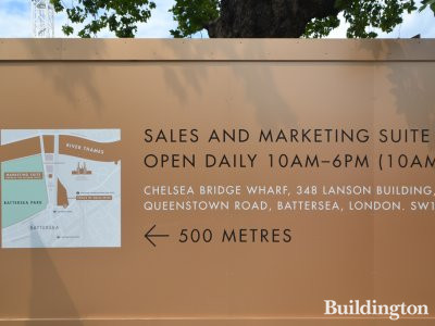 Prince of Wales Drive development Sales and Marketing Suite open daily