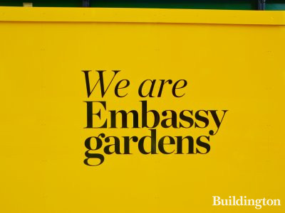 We are Embassy Gardens!