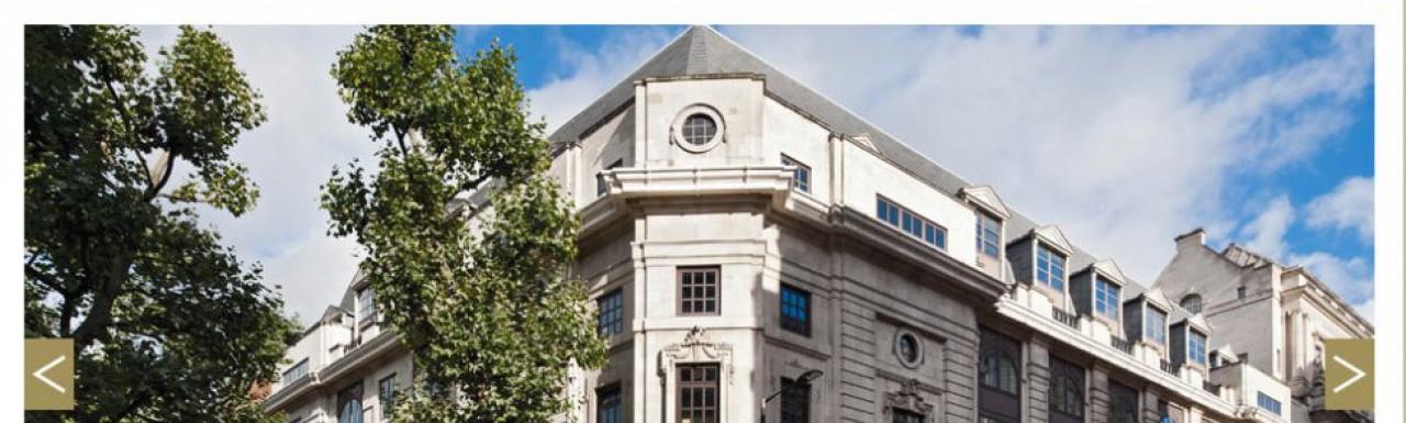Screen capture of Ergon House website at Ergonhousesw1.com