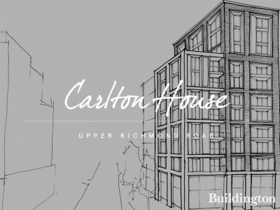 Carlton House - Initial concept sketch by Assael Architecture Limited at fabrica.co.uk.