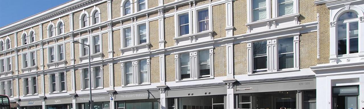 Chelsea Walk building in March 2014