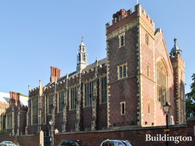 The Great Hall, view to the building from Lincoln's Inn Fields