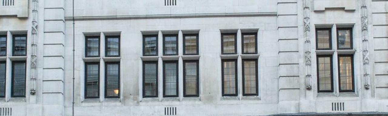Puerorum House at 24-26 Great Queen Street building in London WC2.