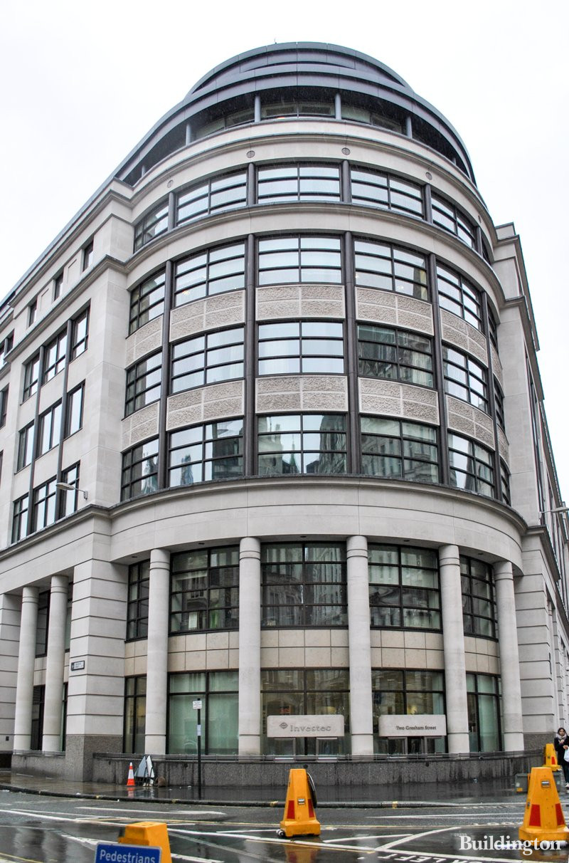 Investec Private Bank At 2 Gresham Street In The City Of London