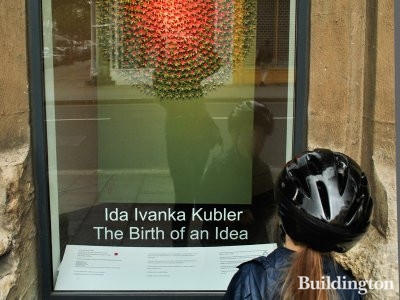 Ida Ivanka Kubler - The Birth of an Idea at Westbourne Grove Church building in 2012