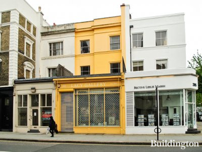 Lacy Gallery, Est. 1960, at 203 Westbourne Grove in London W11.