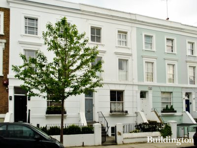 16 Lonsdale Road terraced house in London W11.