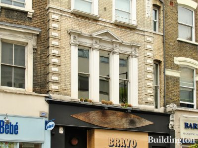 Byron Hamburgers preparing to open at 103 Westbourne Grove in May 2012
