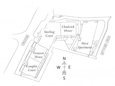 Site plan of Kent Wharf at bellway.co.uk; screen capture.