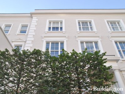 166 Westbourne Grove front elevation after refurbishment in 2013