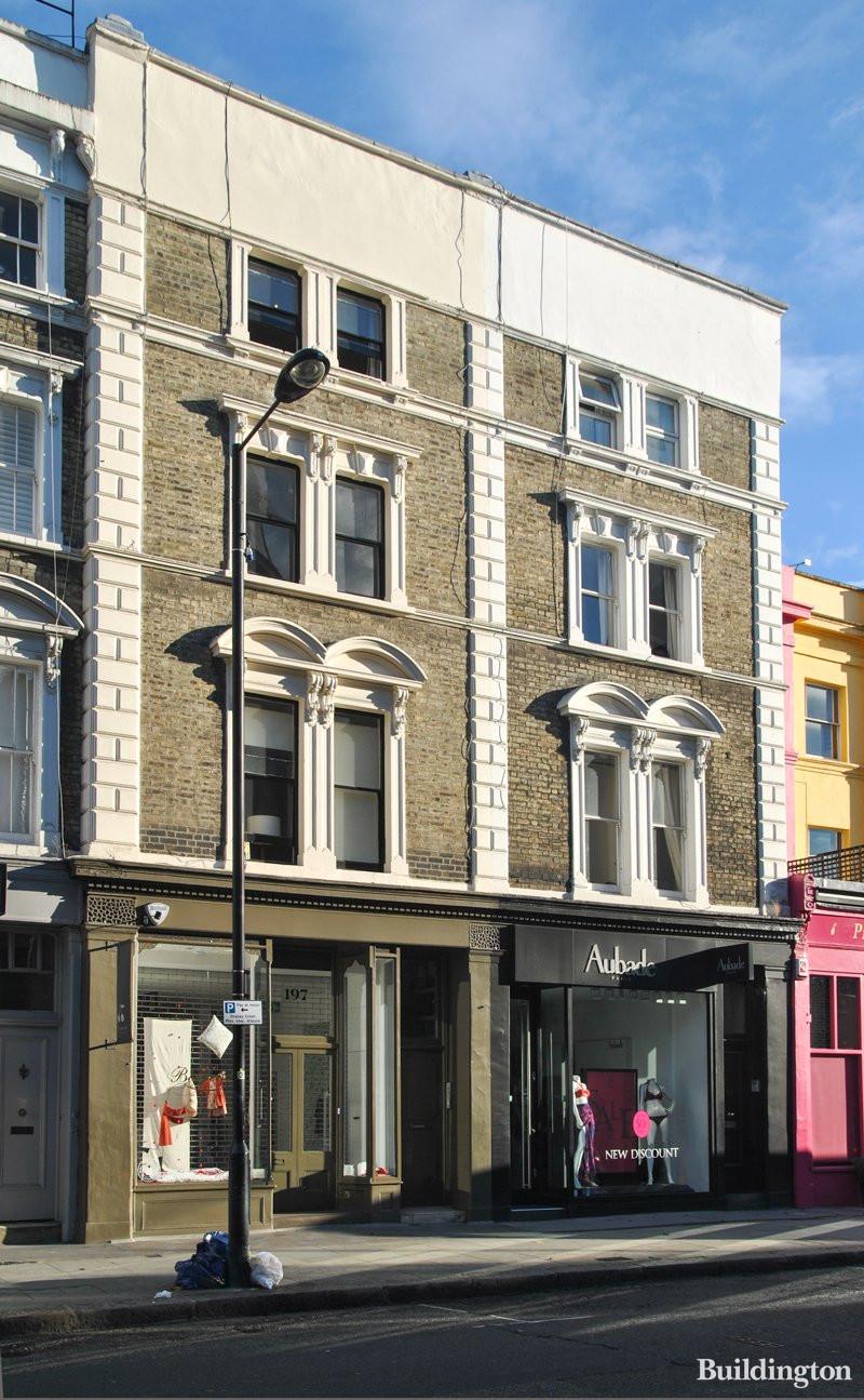 Notting Hill Ladbroke Grove 197 westbourne grove - westbourne grove w11 2sb | buildington
