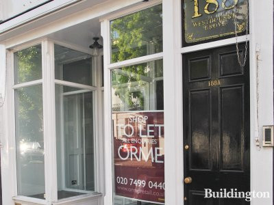 188 Westbourne Grove - Shop to let advertised by Orme Retail in July 2013.