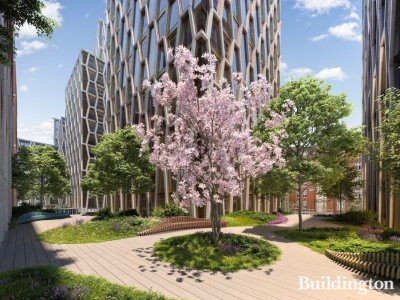 CGI of The Broadway development by Northacre and ADFG in London SW1.