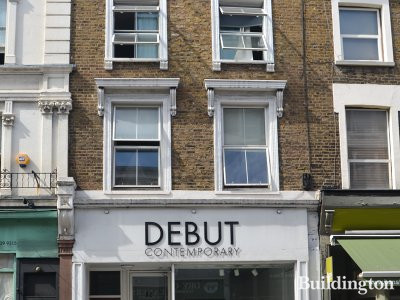 Debut Contemporary has closed. 82 Westbourne Grove in Bayswater, London W2.