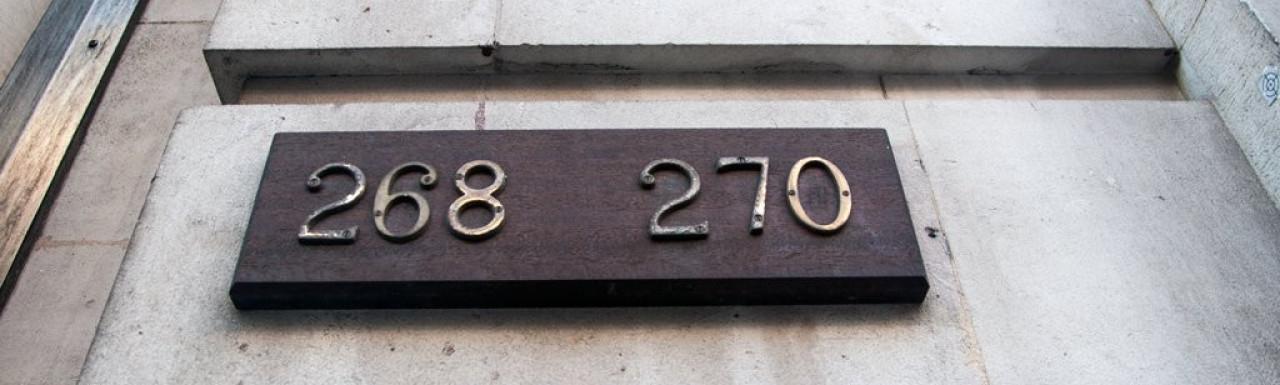 268 - 270 High Holborn BT exchange station building