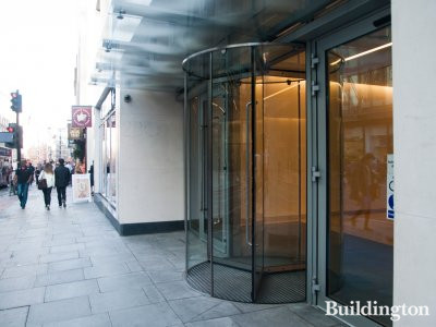 Entrance to 280 High Holborn in 2014