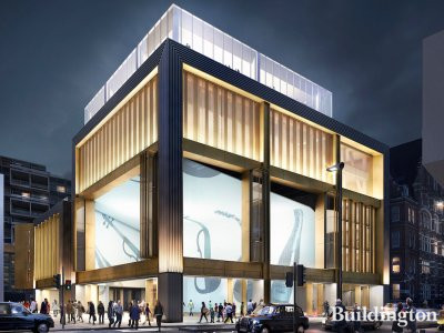 CGI of St Giles Circus development