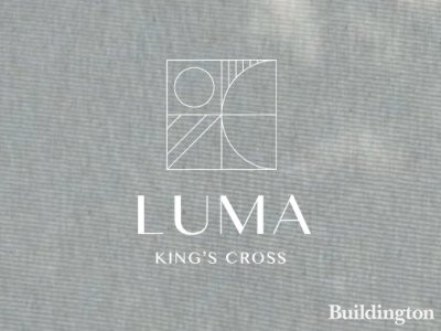 Luma Kings Cross logo on the development website at lumakingscross.co.uk