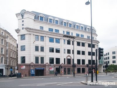 63 Queen Victoria Street office building sits directly over the Mansion House tube station