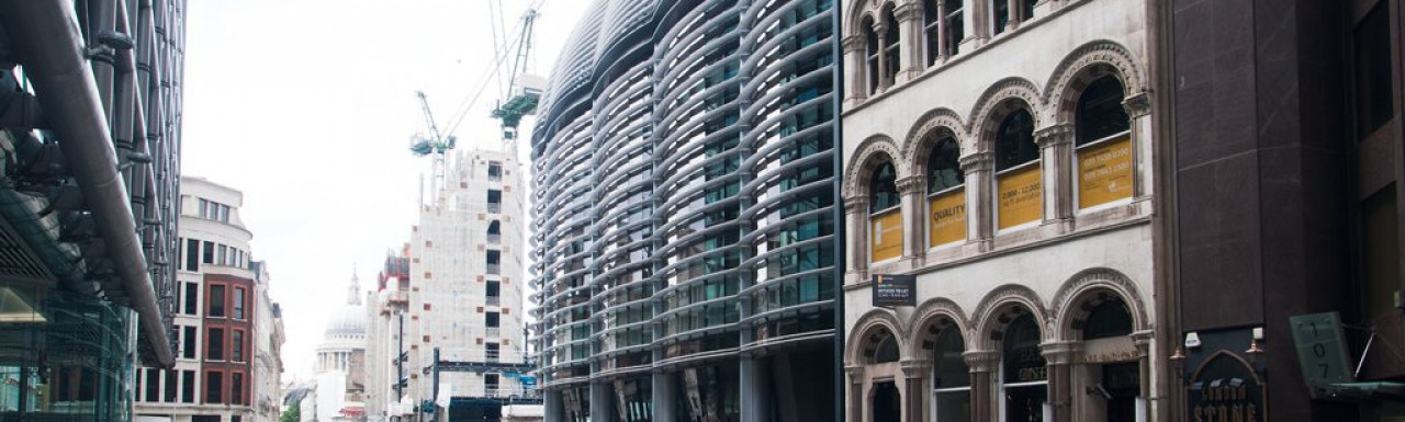 Walbrook Building next to 103 Cannon Street and opposite to Cannon Street Station.