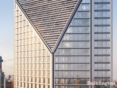 Computer generated image of Two Fifty One development in the brochure at hydenewhomes.co.uk; screen capture