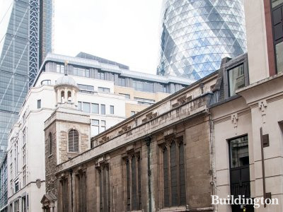 St Andrew Undershaft Church