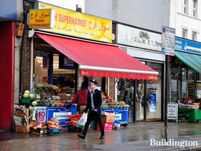 Farah Supermarket at 400 Edgware Road in London W2.