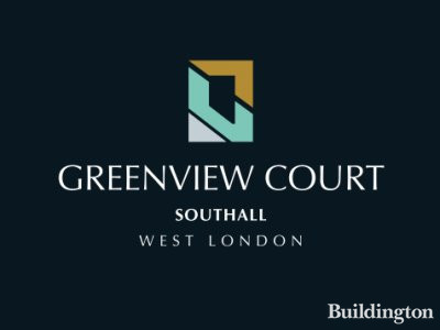 Greenview Court development in Southall, London UB2.