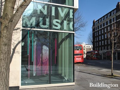 Universal Music at 364-366 Kensington High Street in London W14.