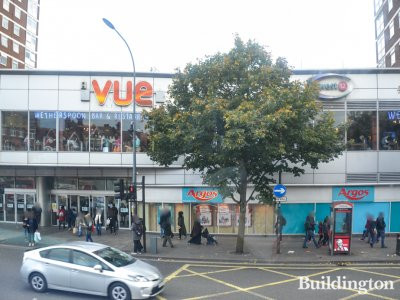 Vue, Wetherspoon and Argos at West12 centre in Shepherds Bush, London W12.