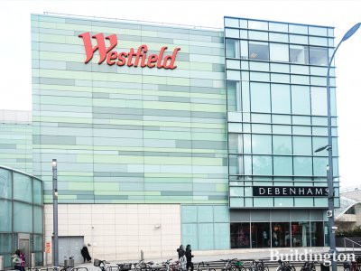 Westfield London shopping centre in Shepherd's Bush