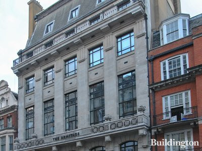 The Armitage building at 226-228 Great Portland Street in London W1.