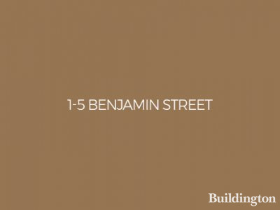 1-5 Benjamin Street development in Clerkenwell, London EC1