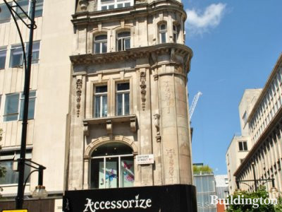 Accessorize store at 386 Oxford Street in May 2011.