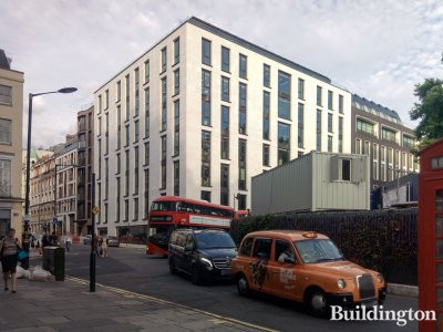 New development at 7-10 Hanover Square designed by Make Architects