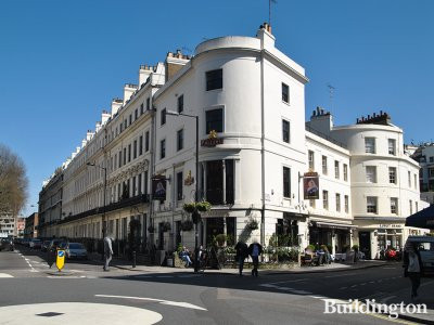 The Victoria at 10A Strathearn Place in Bayswater, London W2.