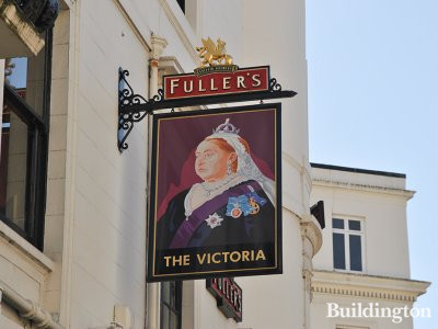 The Victoria pub was named after Queen Victoria