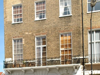 112 Harley Street building in Marylebone, London W1
