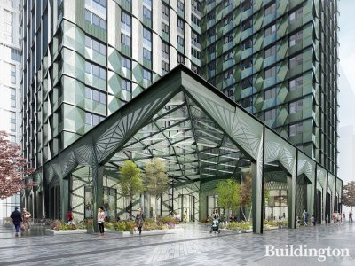 CGI of 101 George Street by HTA; screen capture from 101georgestreet.co.uk.