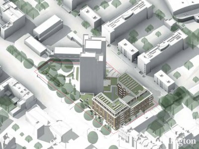 Parsons North visual by David Miller Architects in the design and planning statement of the planning application submitted in July 2017 westminster.gov.uk