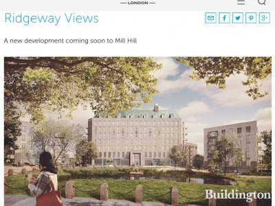 Ridgeway Views residential development on Barratt's website