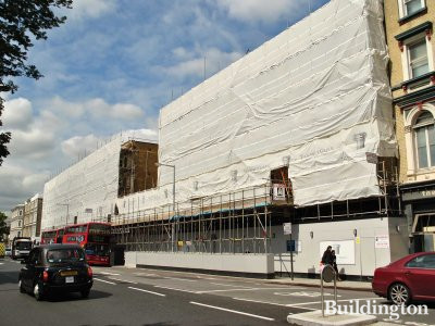 Chelsea Walk at 270 Fulham Road under construction