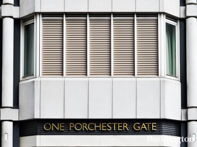 One Porchester Gate apartment building in Bayswater, London W2.