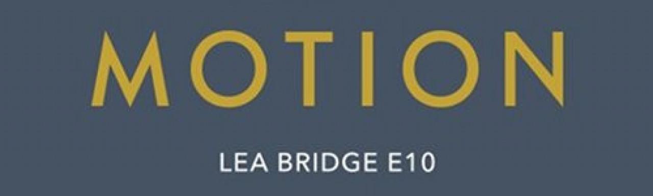 Motion by Hill Lea Bridge, London E10