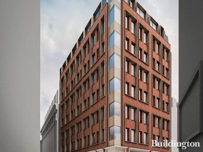 CGI of 19 Dacre Steet development designed by Darling Associates.