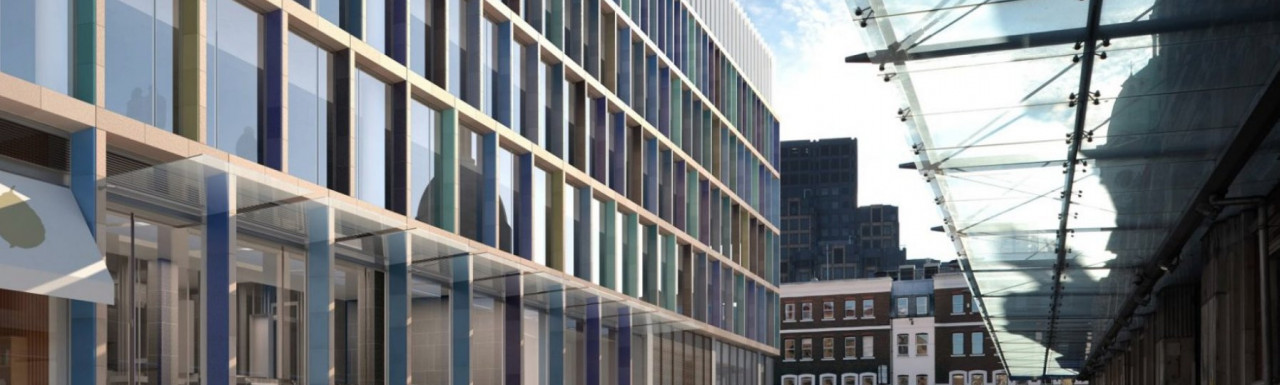 Farringdon East development is designed by PLP Architecture.