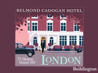 Belmond Cadogan hotel development on Sloane Street, London SW1, is set to open in 2018.